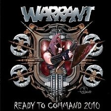 WARRANT - READY TO COMMAND 2010   CD NEW!
