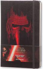 Moleskine Star Wars VII Limited Edition Lead Villain Large Ruled NotebooK-ML-001