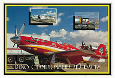 """Dago Red"" P-51 Mustang Air Racer at Reno Championship Air Races 1980's"
