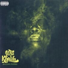 WIZ KHALIFA ROLLING PAPERS CD NEW EXPLICIT LYRICS