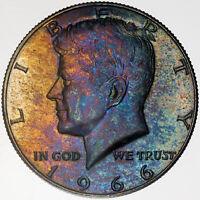 1967 SMS KENNEDY HALF DOLLAR GEM BU BRILLIANT UNC FULL ROLL 20 COINS