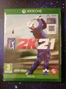 PGA Tour 2K21 Xbox one New and SEALED