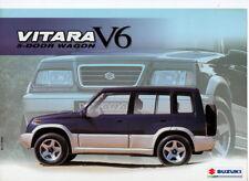 SUZUKI VITARA WAGON v6 SUV (MADE IN EGYPT) _ 2002 Prospectus/Brochure