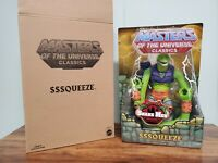 Sssqueeze MASTERS OF THE UNIVERSE Classics MOTU New w Box