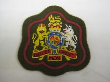 British Army  Warrant Officer Class 1 Badge Red Border Patch