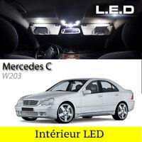 LED Innenraumbeleuchtung Beleuchtung / Set 10 led Glühbirnen für Mercedes C w203