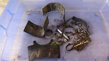 1979 yamaha it175 enduro Y637~ misc hardware nuts bolts ect rubber