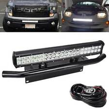FIT Ford Truck SUV 4X4 Pick 126W LED Light Bull Bar Bumper Licence Plate Bracket