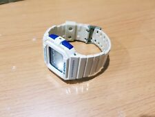 G-Shock Vintage G-Lite GLX5500 Shiny White Cube Square Surfing Moon&Tide WorldT