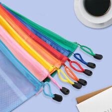 14Pcs Pencil Pen Case Zipper Pouch Cosmetic Bag Storage Stationery Waterproof,Us