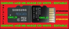 Samsung 16GB SD Card MB-MSAGB CID MODIFICABILE Korea CID Changeable Read Write