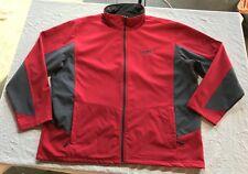 RED GRAY GORTEX WATERPROOF PORT AUTHORITY ZIP JACKET COAT FLEECE LINED 3XL BIG
