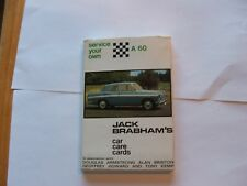 CARD PUBLICTIONS LTD JACK BRABHAM'S CAR CARE CARDS  SERVICE YOUR OWN AUSTIN A60