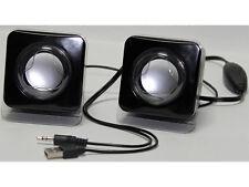 2.0 Lautsprecher Multimedia Stereo Boxen für PC Notebook Computer Laptop Mac usw