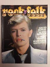 ROCK & FOLK N°171 1981 DAVID BOWIE