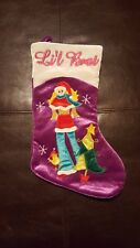 GIRL CHRISTMAS STOCKING - LIL BRAT - NO RESERVE!