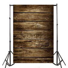 Brown Wood Plank Vintage Studio Props Backdrop 5x7ft Vinyl Photo Show Background