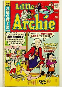 Little Archie #93 Signed by Dexter Taylor Archie Comics