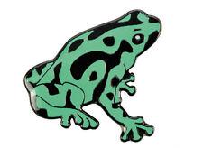 Green Dart Frog Metal Lapel Pin Badge - Excellent Gift Idea!