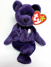 """Ty """"Princess"""" Beanie Baby,""""SPACE""""Swing Tag-VERY GOOD, """"PE-No Number MINT Tush"""