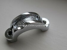2 CHROME threaded HANDLEBAR LEVER CLAMPS-TRIUMPH models with Doherty 217 levers