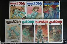 JAPAN Nausicaa of the Valley of the Wind Manga Complete Set