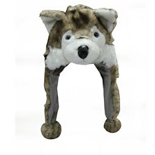 WOLF SIBERIAN HUSKY DOG COSTUME PARTY HAT CAP MASK HALLOWEEN BIRTHDAY XMAS Y039