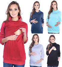 2 in 1 Stillpullover & Umstandspullover Sweatshirt Umstandsmode 4045