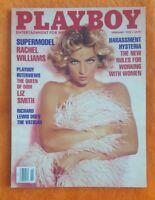 PLAYBOY MEN MAGAZINE FEBRUARY 1992 TANYA BEYER LIZ SMITH JENIFER JASON LEIGH
