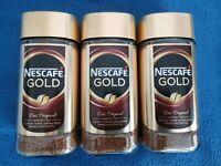 █ 3x NESCAFE Gold - Original löslicher Bohnenkaffee 600g - NEU & OVP Sofortkauf█