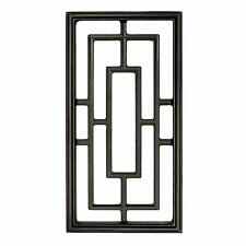 Nuvo Iron Rectangle Decorative Insert for Fencing,Gates, Doors,Home,Garden Acw57