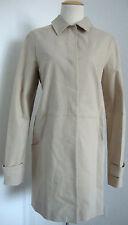 Lacoste señora gabardina abrigo transición chaqueta Parka beige talla 44 nuevo con etiqueta