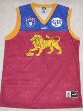 BRISBANE LIONS Hand Signed Late 90's Jersey