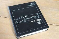 VINTAGE IVC 2002 DIGITAL TIME BASE CORRECTOR OPERATION & SERVICE MANUAL - 1979