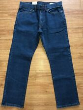 Mens Jeans Stormwear Water Resistant  W32 L29 Short M&S Straight Jeans RRP £35.