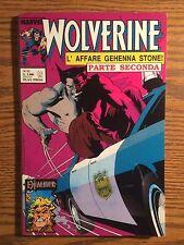 Wolverine #12 Euro Variant Italian Language Foreign Marvel Comic Gehenna Stone