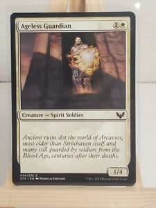 MTG * Strixhaven * School of Mages * Ageless Guardian * Common * 1st Edition