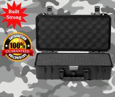 "Tough Waterproof Camera/Gun Hard Case Storage Box Portable 14.4"" x 7.9"" x 4.3"""