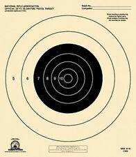 B-16 [B16] NRA Official 25 Yard Slow Fire Pistol Target (box 1,000) Tagboard