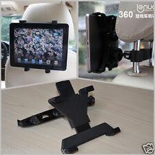 360°Ratating Car Bracket Seat Headrest Mount Pole Holder For Tablet PC iPad Air