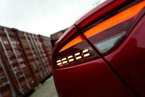 Rear Trunk New Facelift LED Tail Lamp Light 3PC For 2018~2021 2022+ Kia Stinger