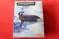 Games Workshop Warhammer 40K Dark Eldar Reaver Jetbike Jet Bike NIB 1990s OOP GW