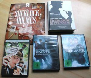 Sherlock Holmes 3 DVDs Robert Downey Jr. Verborgener Tempel + 2 Sachbücher
