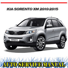 KIA SORENTO XM 2010-2015 WORKSHOP SERVICE REPAIR MANUAL ~ DVD