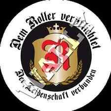 Vespa Lambretta Roller Scooter Sticker Aufkleber Dem Roller verpflichtet