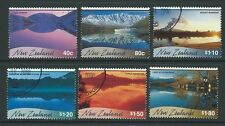 Nouvelle-zélande 2000 scenic reflections set of 6 fine used