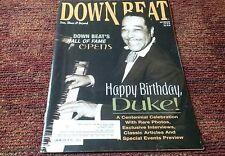 Down Beat Magazine Duke Ellington April 1999 jazz blues music piano
