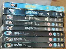 Harry Potter DVDs 1-8  Set Complete Film Set