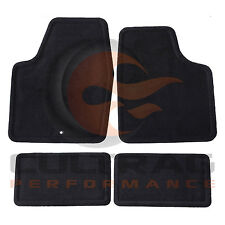 2006-2013 Chevrolet Impala GM Front & Rear Carpet Floor Mats Ebony 25795457