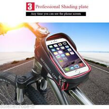 Frontal Soporte Bolsa Bicicleta Bolso BICI Ciclismo Funda Móvil GPS impermeable